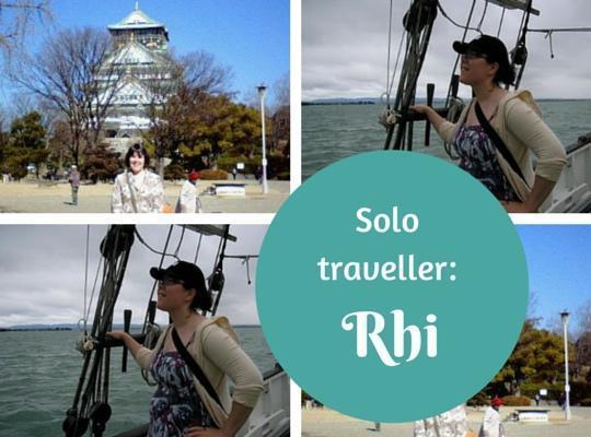 Solo traveller Rhi - solo female travel superwoman