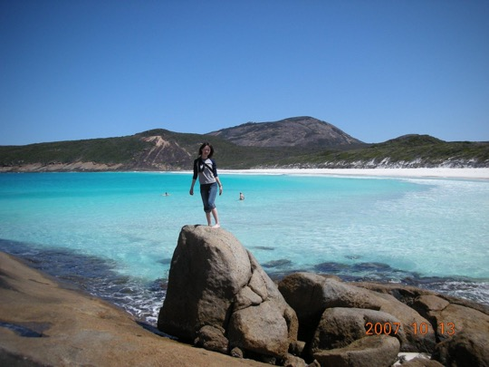 Aki in Esperance - solo travel for females