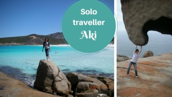 Solo traveller Aki - solo travel for females
