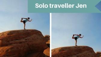 Solo traveller Jen - solo travel for females