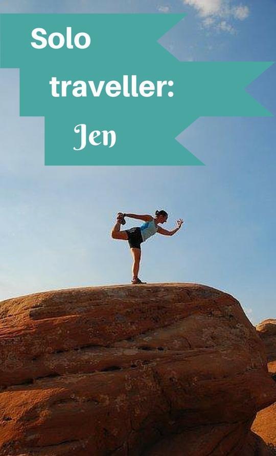 Solo traveller Jen - solo female travel