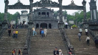 Hue temple in Vietnam - Paul Theroux on uncool places to travel