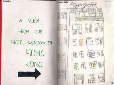 Hong Kong from diary