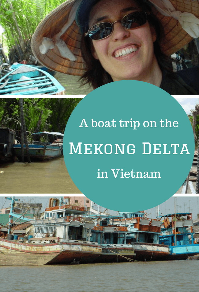 A boat trip on the Mekong Delta, Vietnam