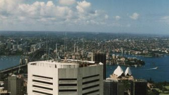 Backpacking in Australia - View from Sydney Tower
