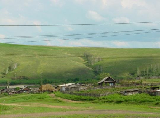 Villages along the Trans-Siberian railway