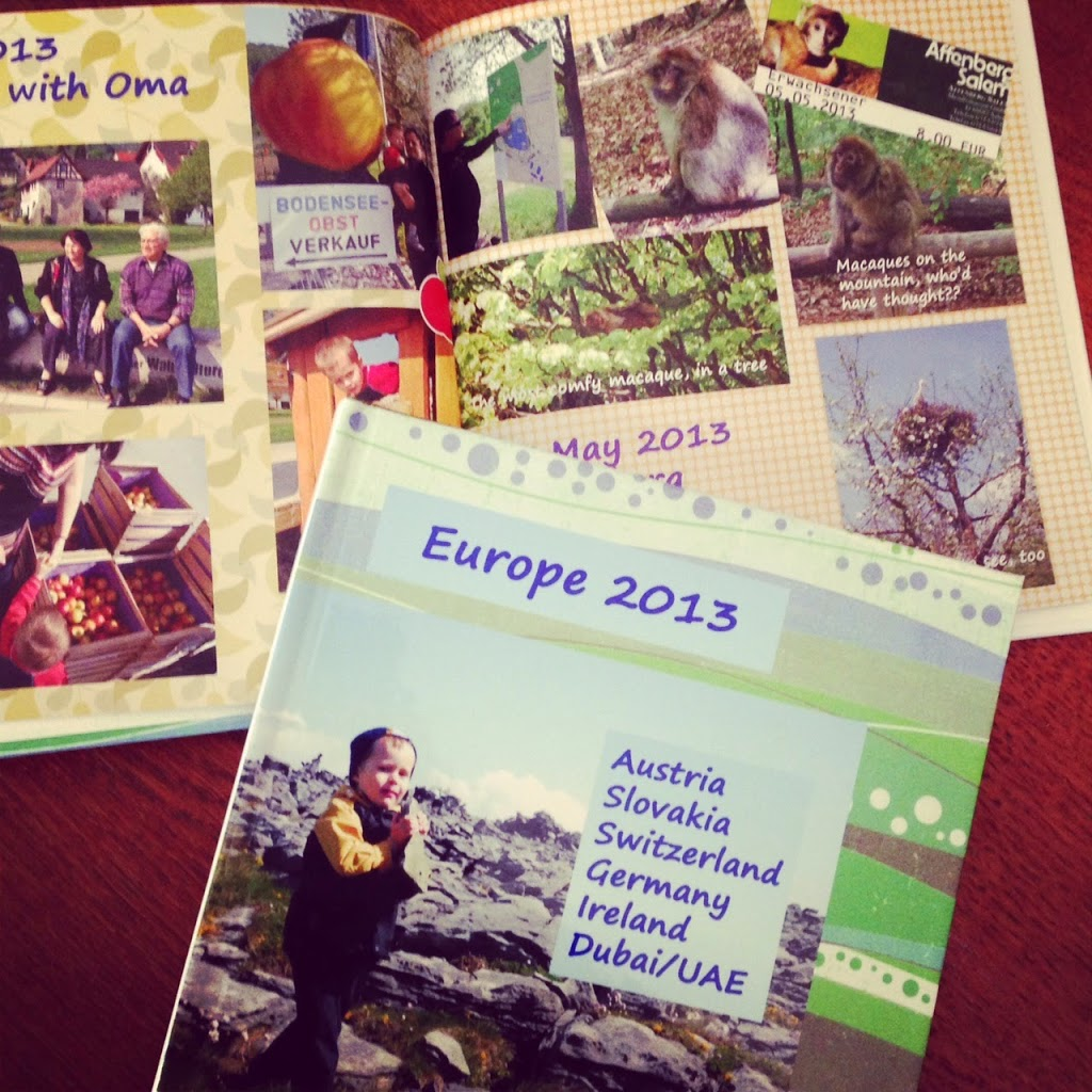 How to scrapbook travel - Our Digital Scrapbook About Our European Trip Is A Popular Bedtime Read At Our House
