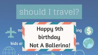 Not A Ballerina blog celebrates its 9th birthday