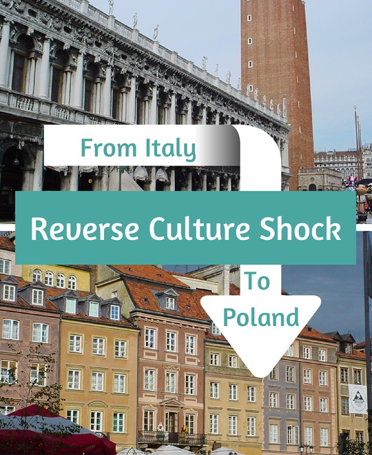 How does Agata deal with the reverse culture shock returning from Italy to Poland