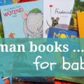 German baby books and German picture books