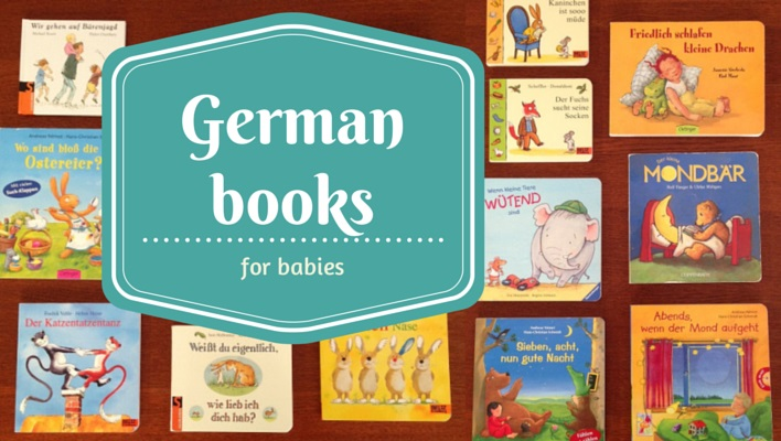 German books for babies - encouraging bilingual kids