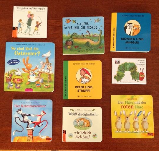 German books for babies - German language for kids