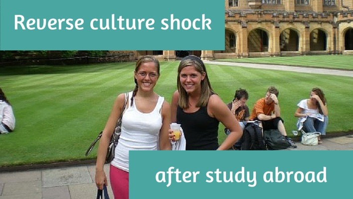 Reverse culture shock after study abroad