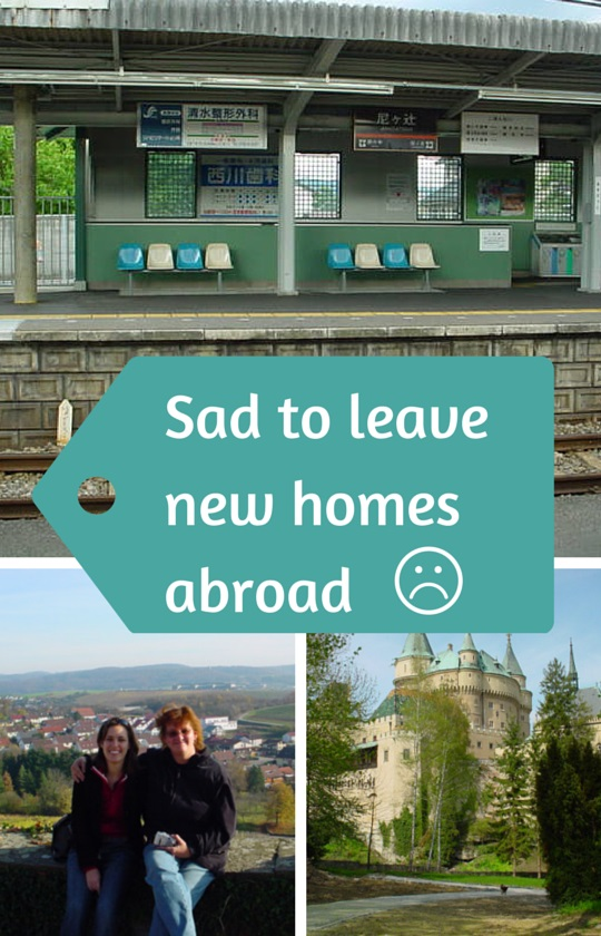 The sadness of leaving new homes abroad - the perils of ...