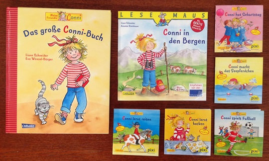 German books for toddlers - Conni