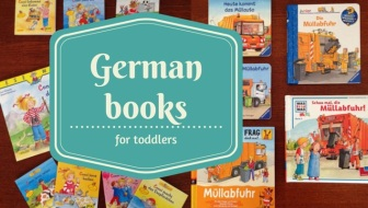 German books for toddlers: Our favourite German children's books for age two and three