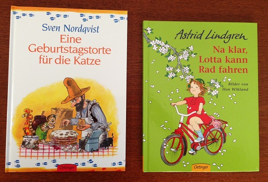 German books for toddlers - longer books