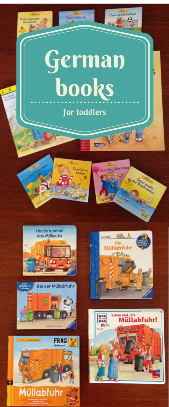 German books for toddlers - encouraging bilingualism