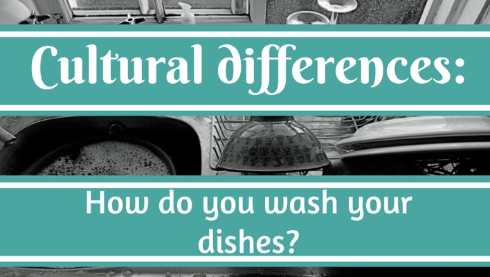 Unexpected cultural differences: How do you wash your dishes in your ...