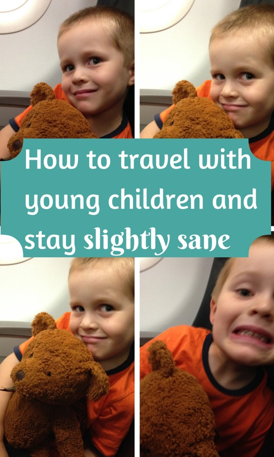 How to travel with young children and stay slightly sane ...