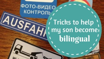 5 tricks I use to help my son become bilingual