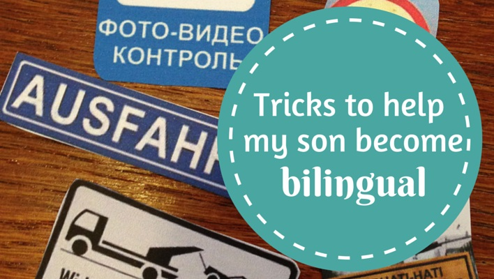 Tricks to help my son become bilingual