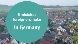 The funniest 5 mistakes foreigners make in Germany