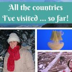 Confession: I do keep count of the countries I've visited