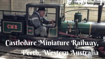 Perth for kids: Fun at the Castledare Miniature Railway