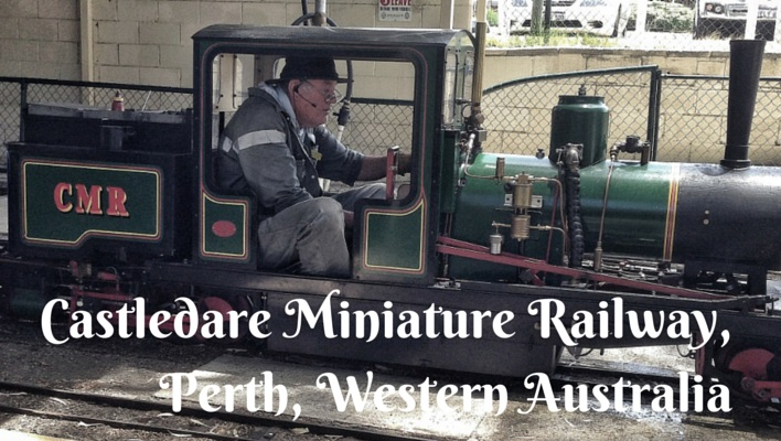 Castledare Miniature Railway Perth for kids