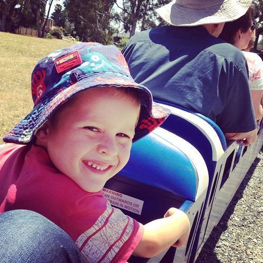 Castledare Miniature Railway Perth for Kids