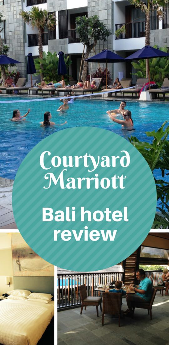 Courtyard Seminyak Bali review Marriott Hotels