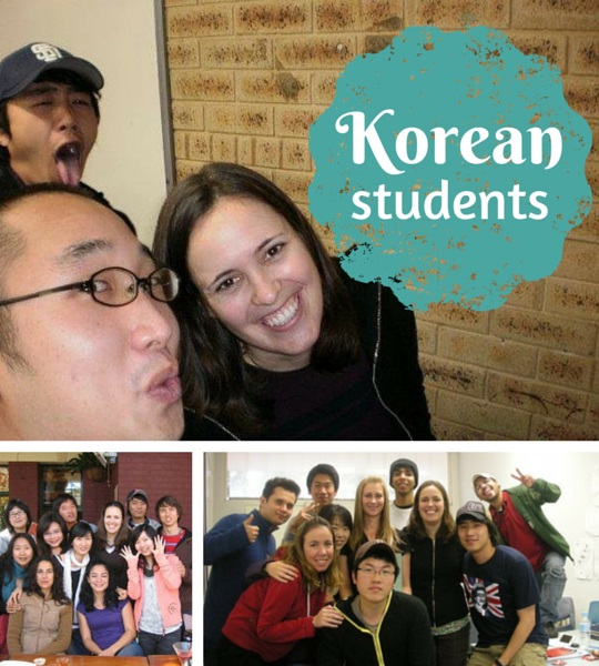 Learning about Korean culture from my students