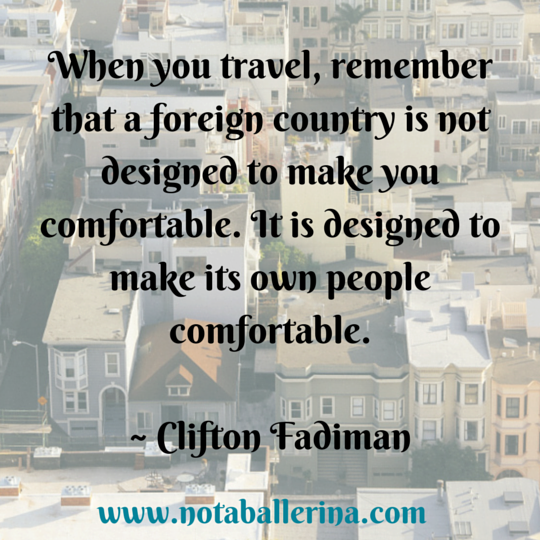 Travel Quote by Clifton Fadiman