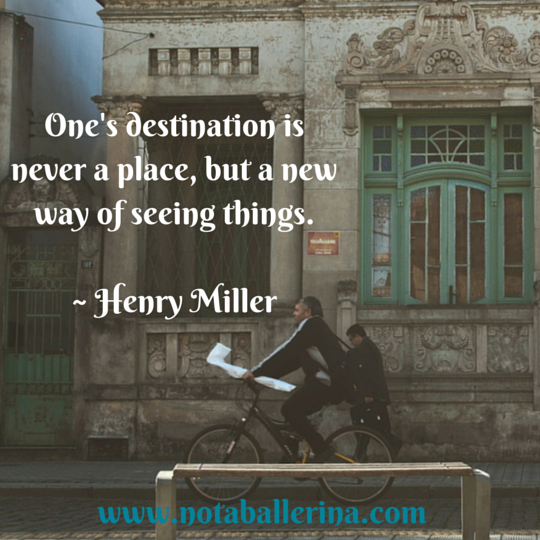 Travel Quote Henry Miller