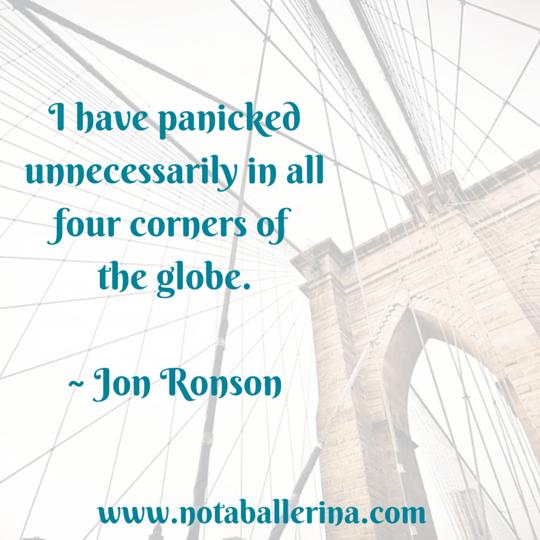 Travel Quote Jon Ronson
