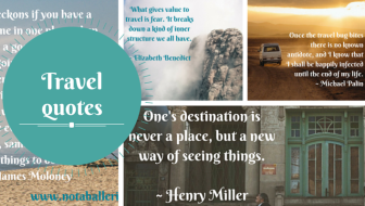 Travel quotes on why we travel