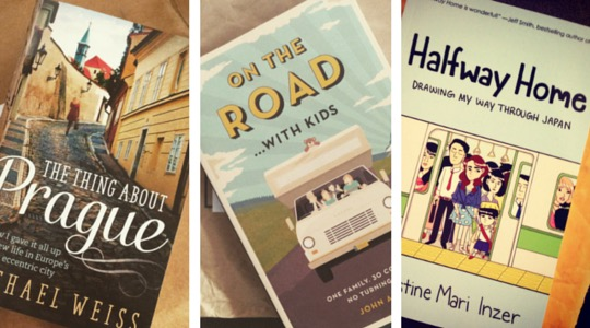 Armchair travel books giveaway