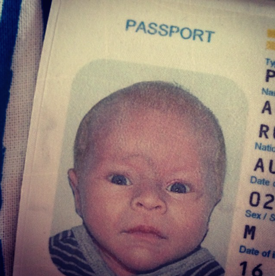 First passport: The tale of a young traveller