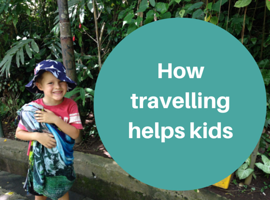 How travelling helps kids gain confidence