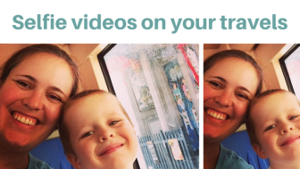 Selfie videos on your travels