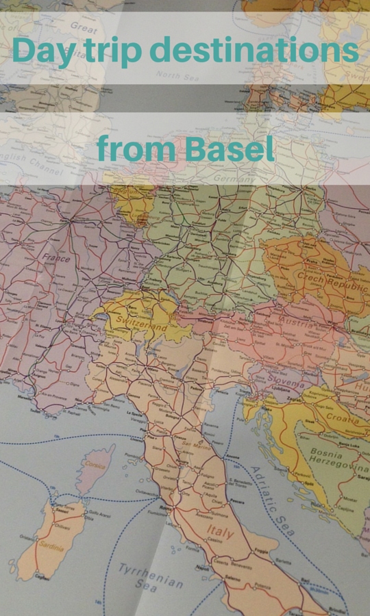 Day trip destinations from Basel