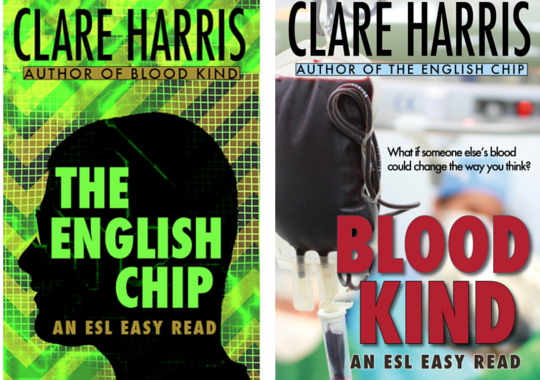 ESL Easy Read books by Clare Harris