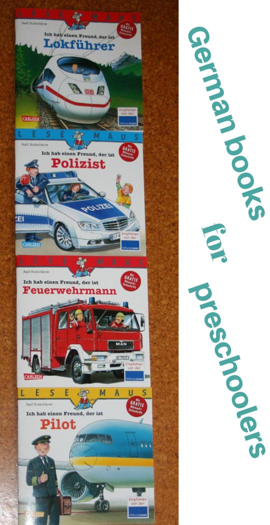 German books for preschoolers - Ich hab einen Freund