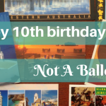 Happy 10th birthday - Not a Ballerina's blog anniversary