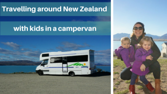 Kristy's tips for travelling around New Zealand with kids in a campervan