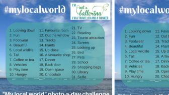 #mylocalworld Instagram challenge for July 2015