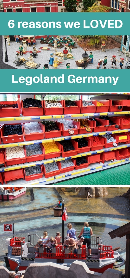Legoland Germany reviews from a mother and son