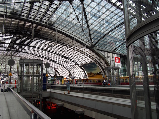 Eurail through Europe - Berlin Hauptbahnhof