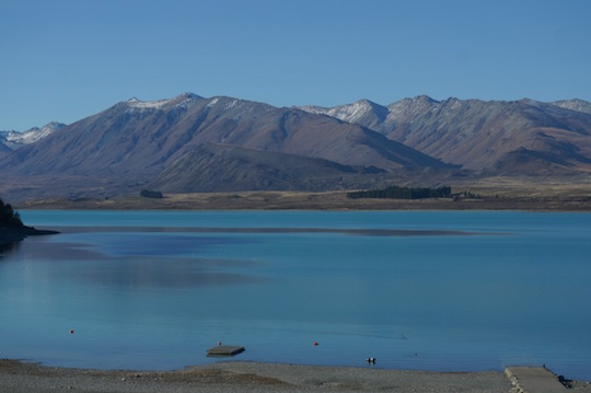 Lake Tekapo, New Zealand - itinerary for the South Island with kids in a campervan